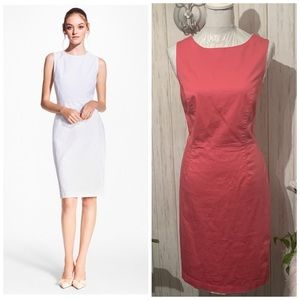 Brooks Brothers Stretch Jacquard Sheath Dress